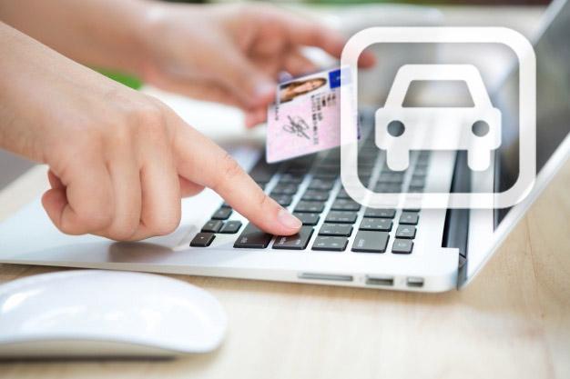 Modificación de los datos de carné y permiso de circulación